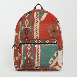 Kula West Anatolian Niche Kilim Print Backpack