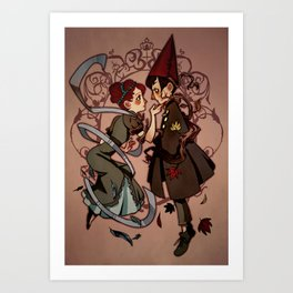 A Birdy Once Told Me Art Print
