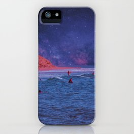 Surf Town iPhone Case
