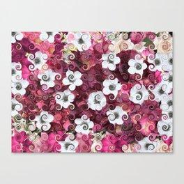 The Flower Dance Canvas Print