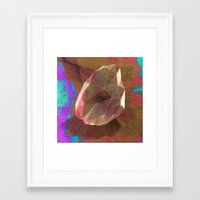 snatch Framed Art Prints featuring crystal snatch by Stephen Leafriver