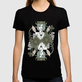 SINS Mentis - Envy Queen of Clubs T-shirt