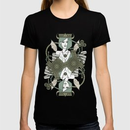 SINS Mentis - Envy Queen of Clubs T-shirt