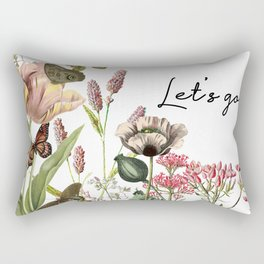 LET'S GO Rectangular Pillow