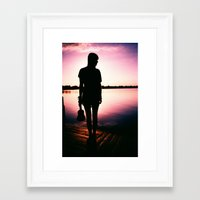 sister Framed Art Prints featuring Sister by Zac Thompson