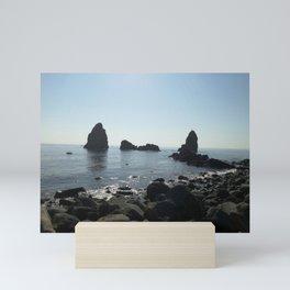 Volcanic Coast Mini Art Print