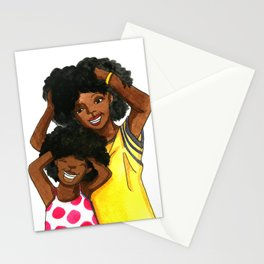 Mommy and me Stationery Cards