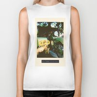 motorcycle Biker Tanks featuring Motorcycle by Mauricio De Fex