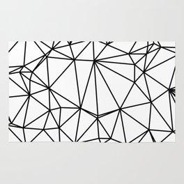 Random delaunay triangulation - white Rug