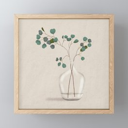 Silver Dollar Eucalyptus Framed Mini Art Print