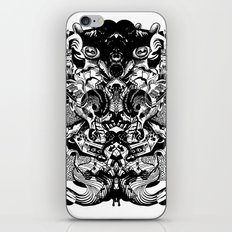 Scorn Pourer iPhone & iPod Skin