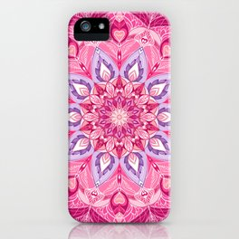 Love Mandalla iPhone Case