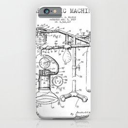 Vintage Anesthesia Gas Machine iPhone Case