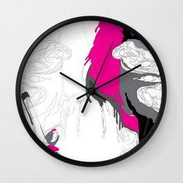 The Smoker #3 Wall Clock