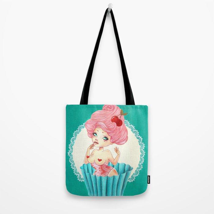 Cupcake Girl Tote Bag