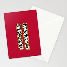 Everything is Awesome! Stationery Cards