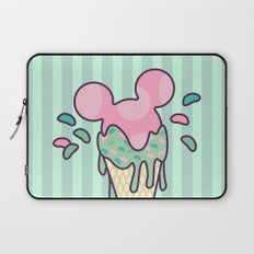 Mickey Icecream Splash Laptop Sleeve
