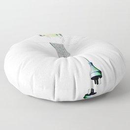 Eumomota Plugciliosa Floor Pillow