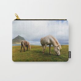 Horses 5 Carry-All Pouch