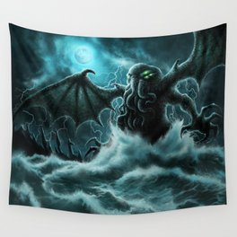 Rise of Cthulhu Wall Tapestry