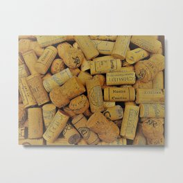 Warm Corks 2 Metal Print