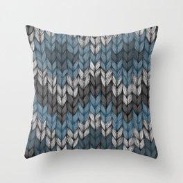 knit3 Throw Pillow