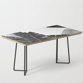 Banana Leaves BW Coffee Table
