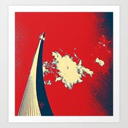 ROCKET RED GLORY Art Print