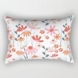 A Field of Flowers Rectangular Pillow