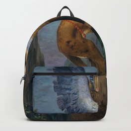 Gustave Moreau - Oedipus And The Sphinx - Digital Remastered Edition Backpack