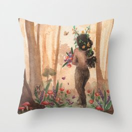 Nothing Dies Here Throw Pillow