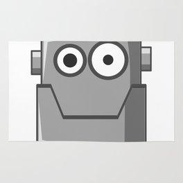 Cartoon Robot Head Rug