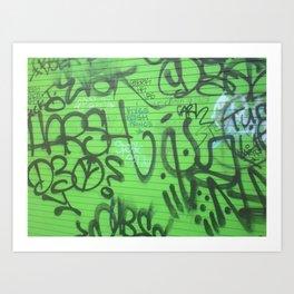 New Orleans Graffitti Art Print