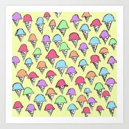 ice cream ice cream -2- Art Print