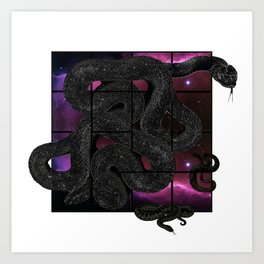 Snakelicious Art Print
