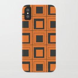 Orange Squares iPhone Case