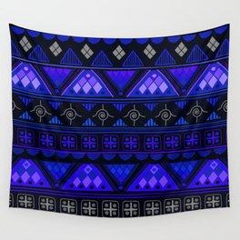 Boho Geometric Pattern Var. 2 Wall Tapestry
