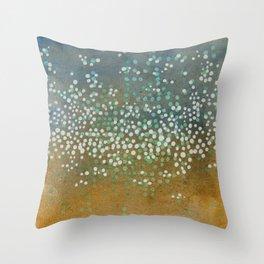 Landscape Dots - Float Throw Pillow