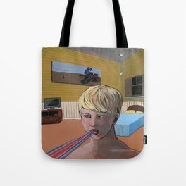 Caught a case of rain mouth Tote Bag