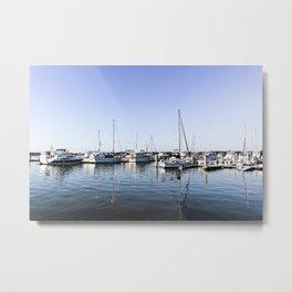 Boats of Beaufort Metal Print