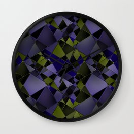 Geometric pattern.2 Wall Clock
