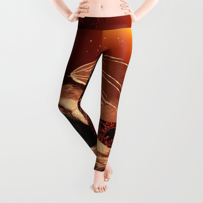 Wonderful dragon Leggings