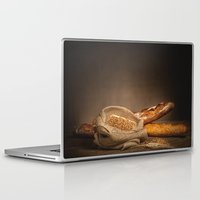 bread Laptop & iPad Skins featuring Bread. by Alexey & Julia
