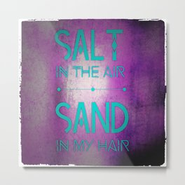 summer text Metal Print