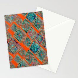 Ratty Diamonds  Stationery Cards