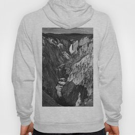 Lower Falls black and white Hoody