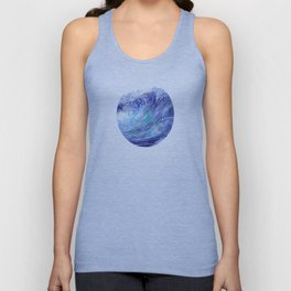 Pacific Waves Unisex Tank Top