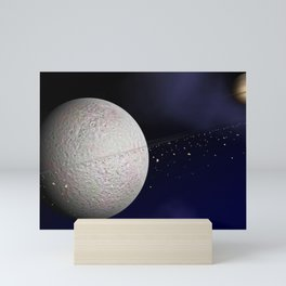 523. Rhea's Rings Mini Art Print