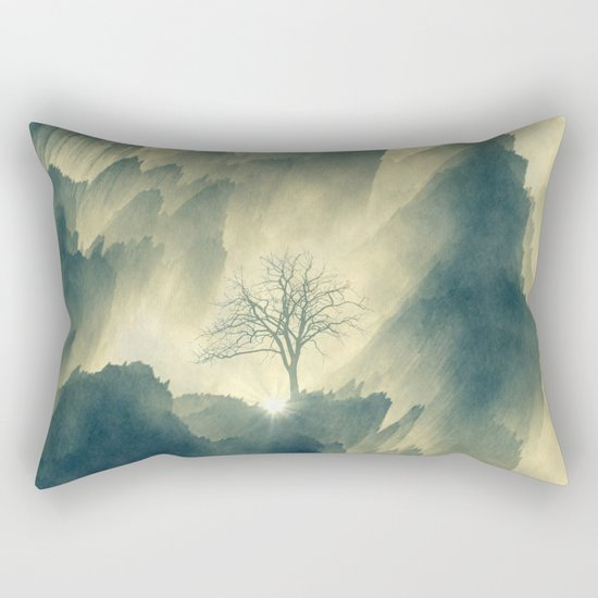 Promise of the New Light Rectangular Pillow