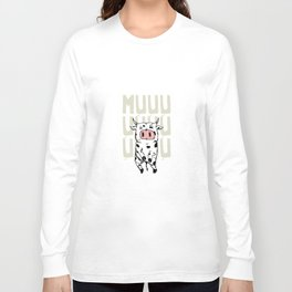 Abducted Cow Long Sleeve T-shirt